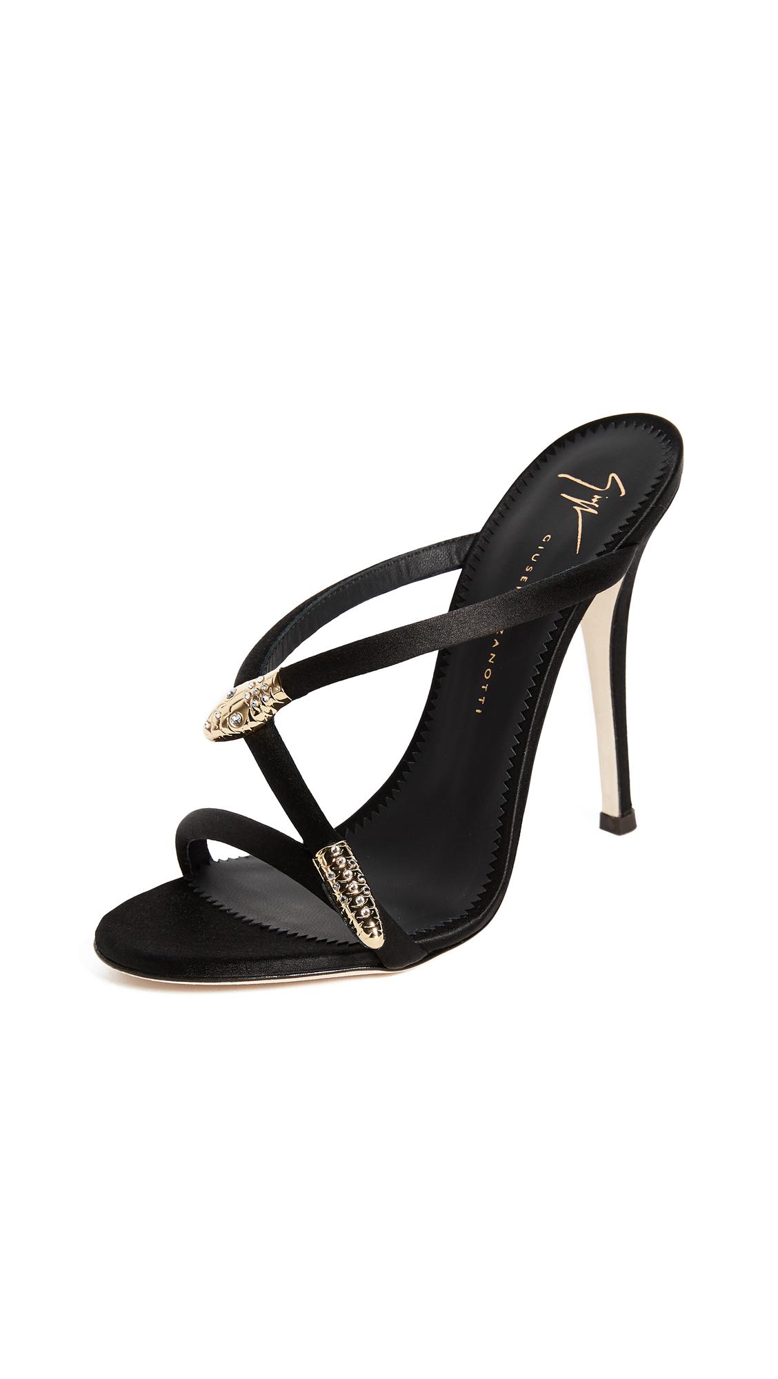Giuseppe Zanotti Heeled Mule Sandals - Nero