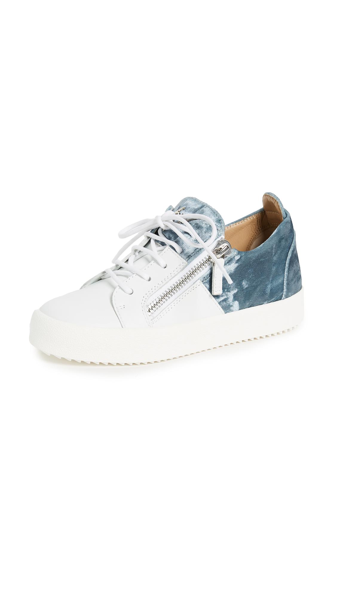 Giuseppe Zanotti Zip Sneakers - Bianco