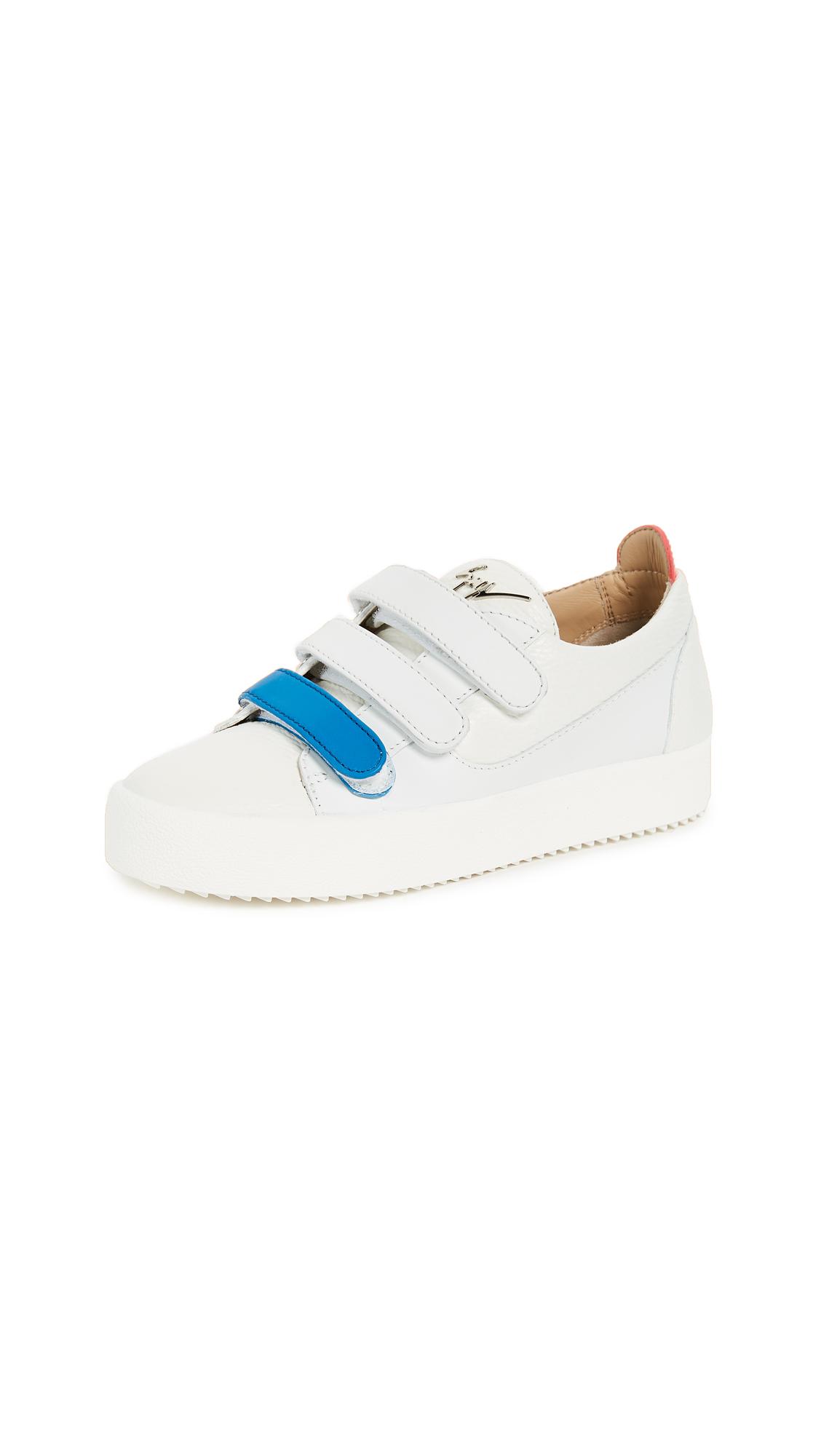 Giuseppe Zanotti Velcro Sneakers - Bianco