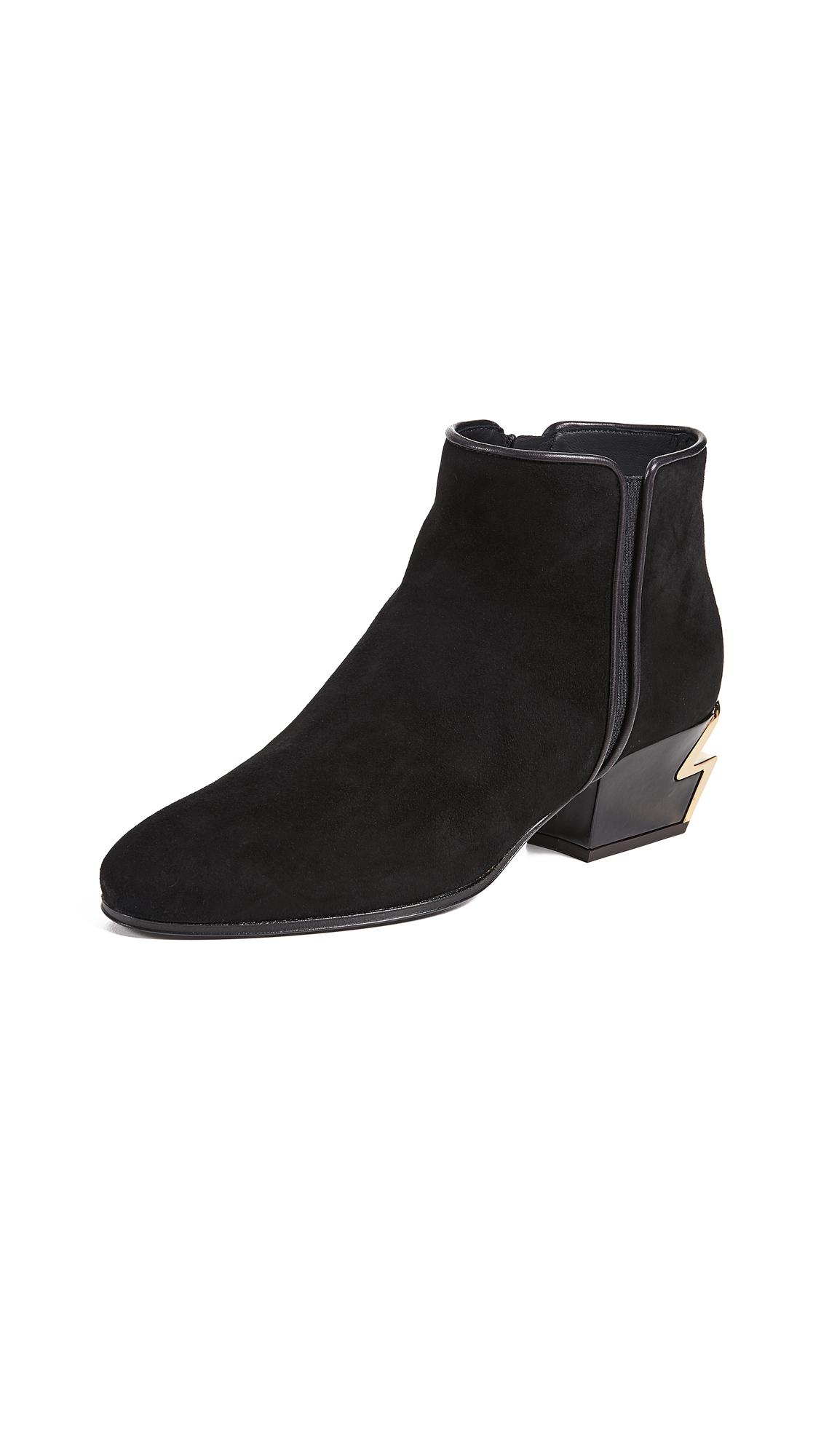 Giuseppe Zanotti Ankle Booties - Nero