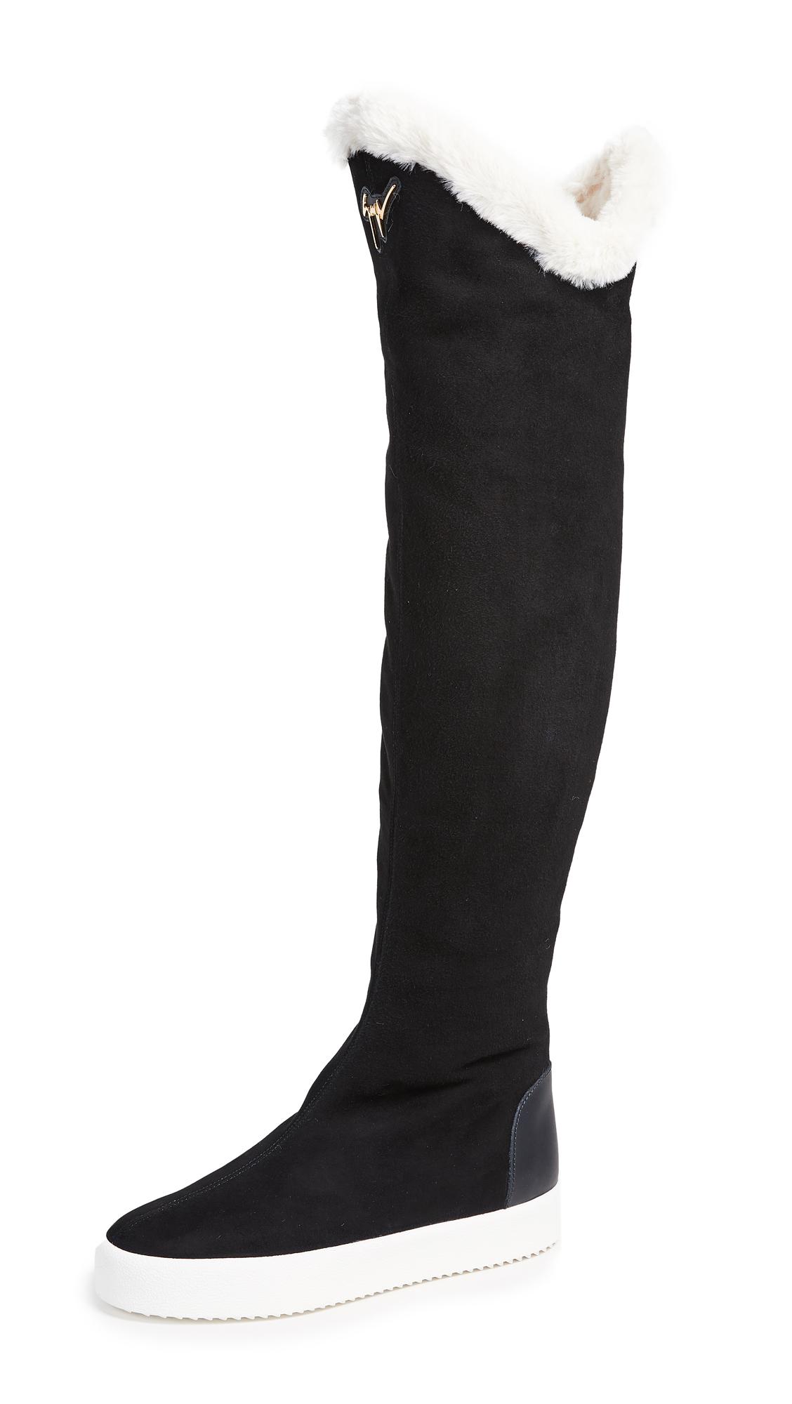 Giuseppe Zanotti Thigh High Boots - Nero