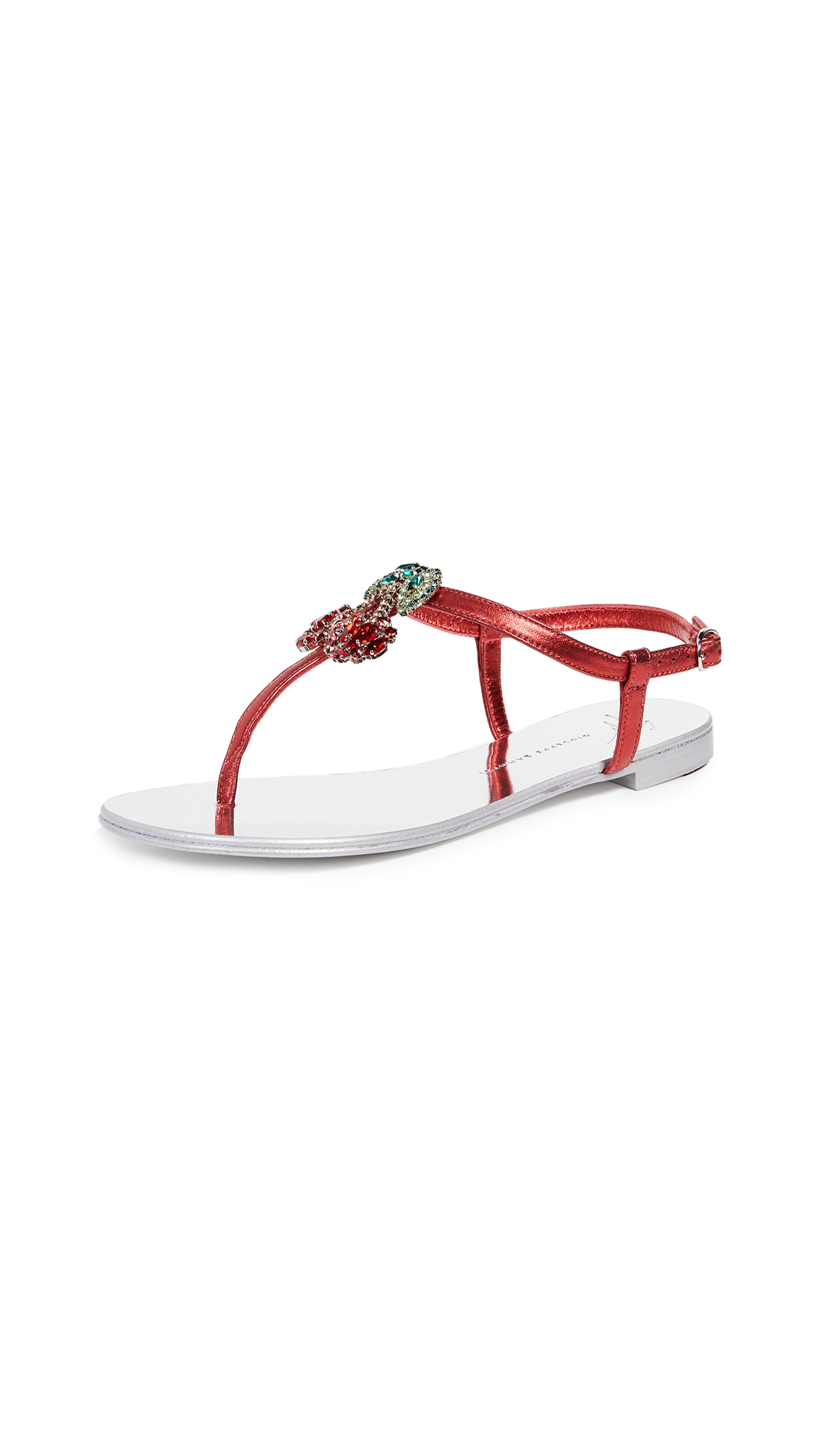 Giuseppe Zanotti Nuvrock 10 Sandals - Fragola