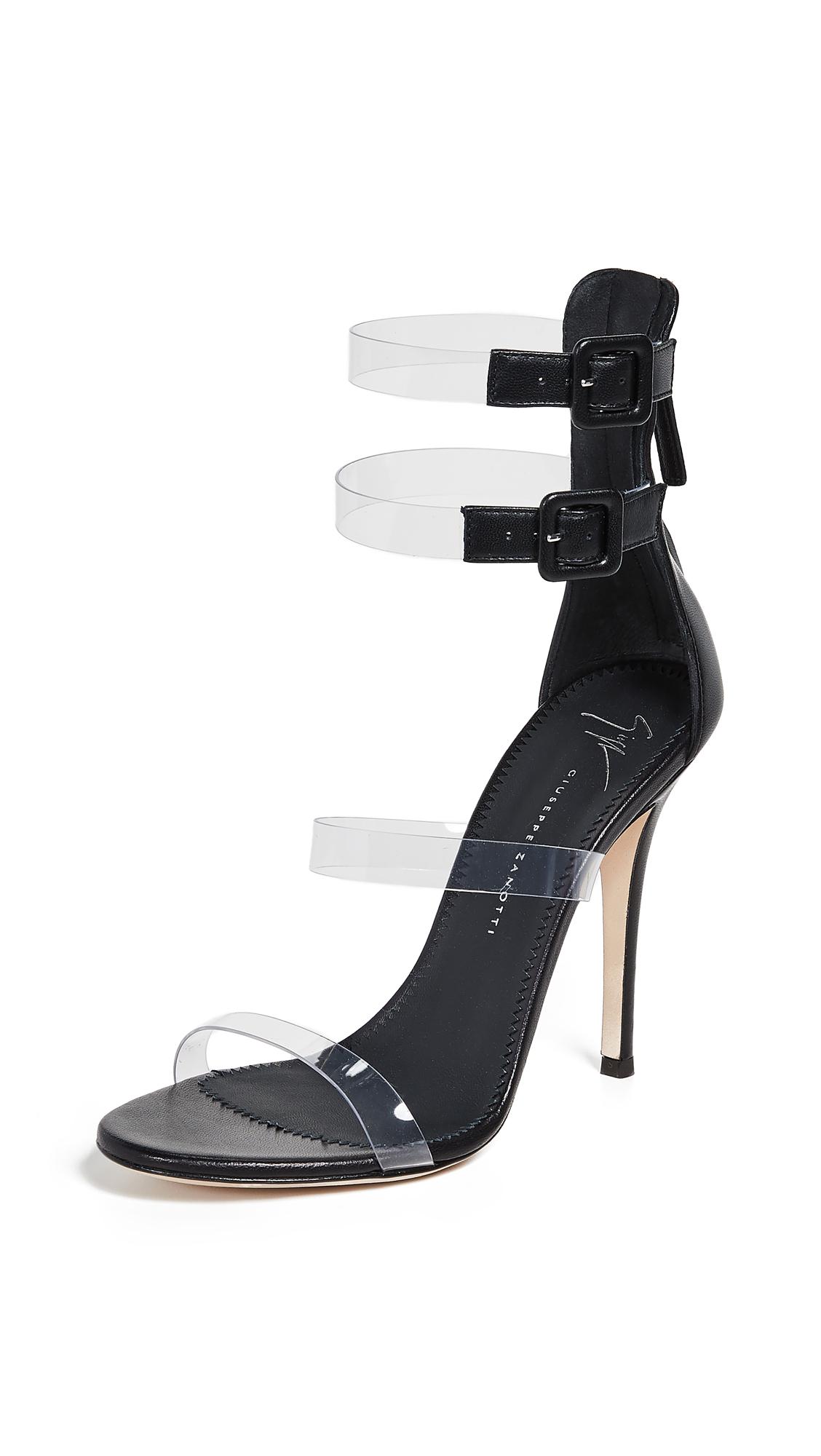 Giuseppe Zanotti Alien 115 Sandals - Transparente