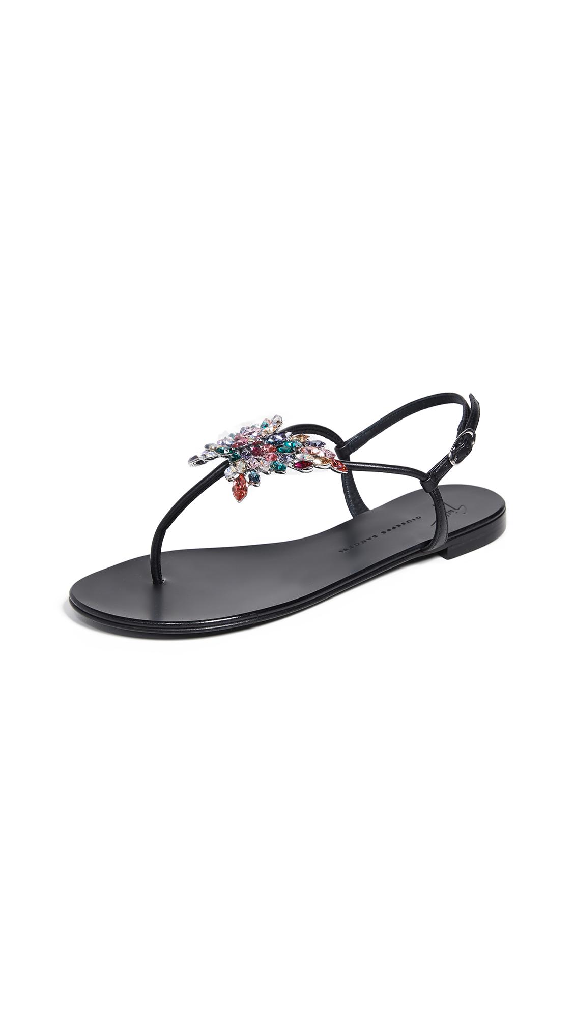 Giuseppe Zanotti Nuvrock 10 Sandals - Nero