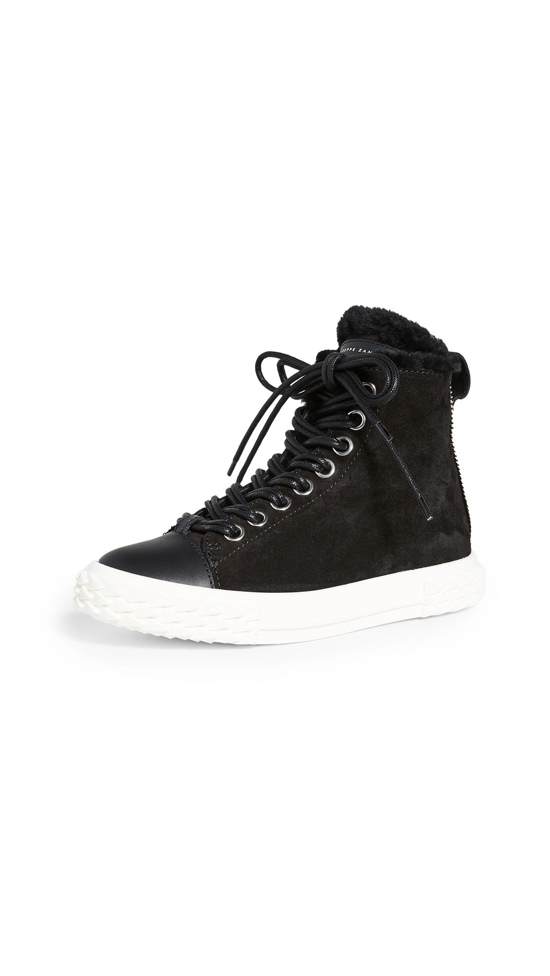 Buy Giuseppe Zanotti online - photo of Giuseppe Zanotti Blabber High Top Sneakers