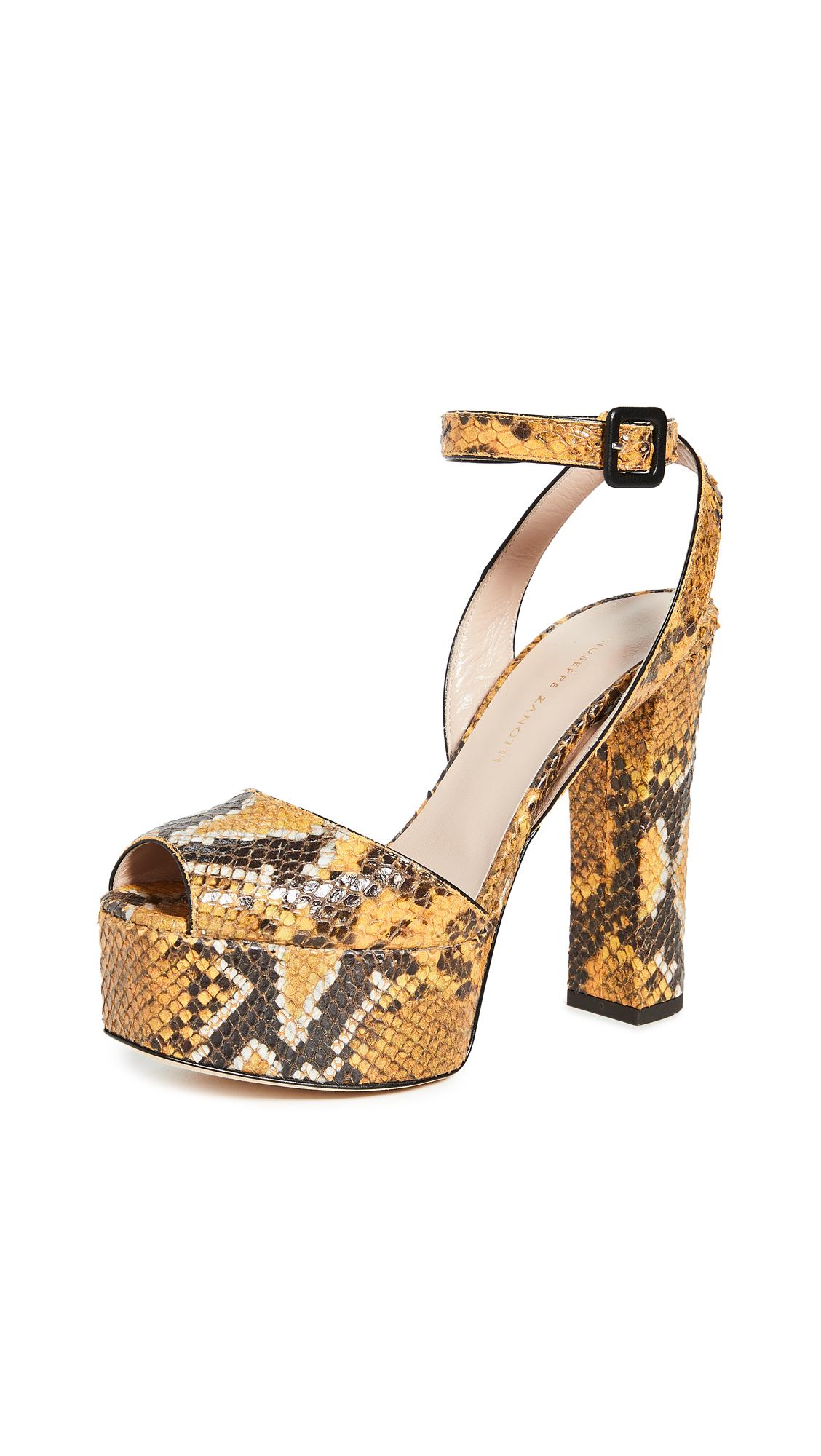 Buy Giuseppe Zanotti online - photo of Giuseppe Zanotti Lavinia Platò Sandals