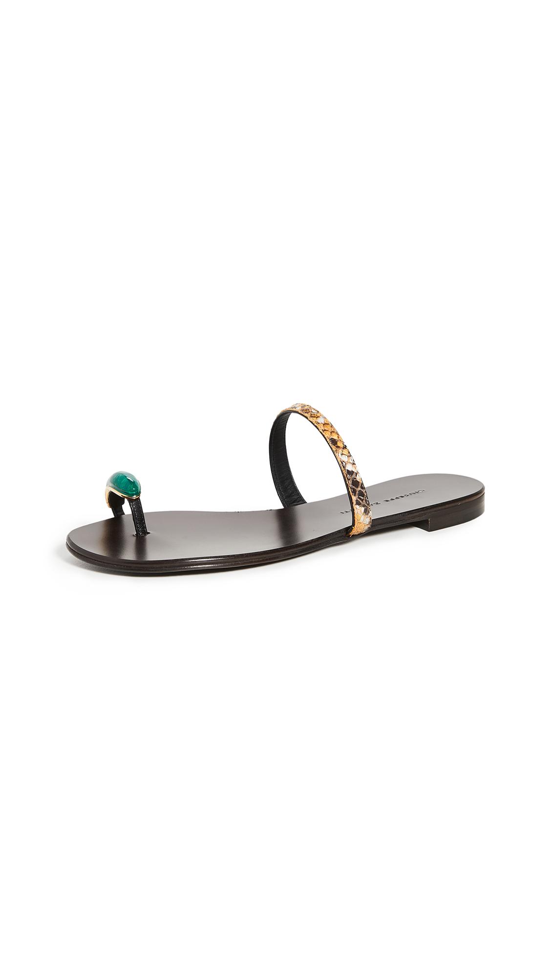 Buy Giuseppe Zanotti Nuvòrock 10 Slides online, shop Giuseppe Zanotti