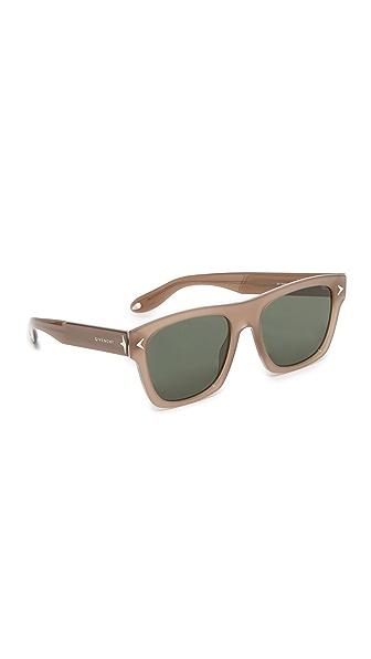 Givenchy Солнцезащитные очки с плоской верхней частью