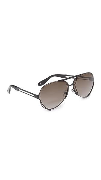 Givenchy Солнцезащитные очки-авиаторы