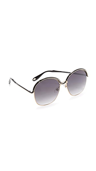 Givenchy Oversized Round Sunglasses
