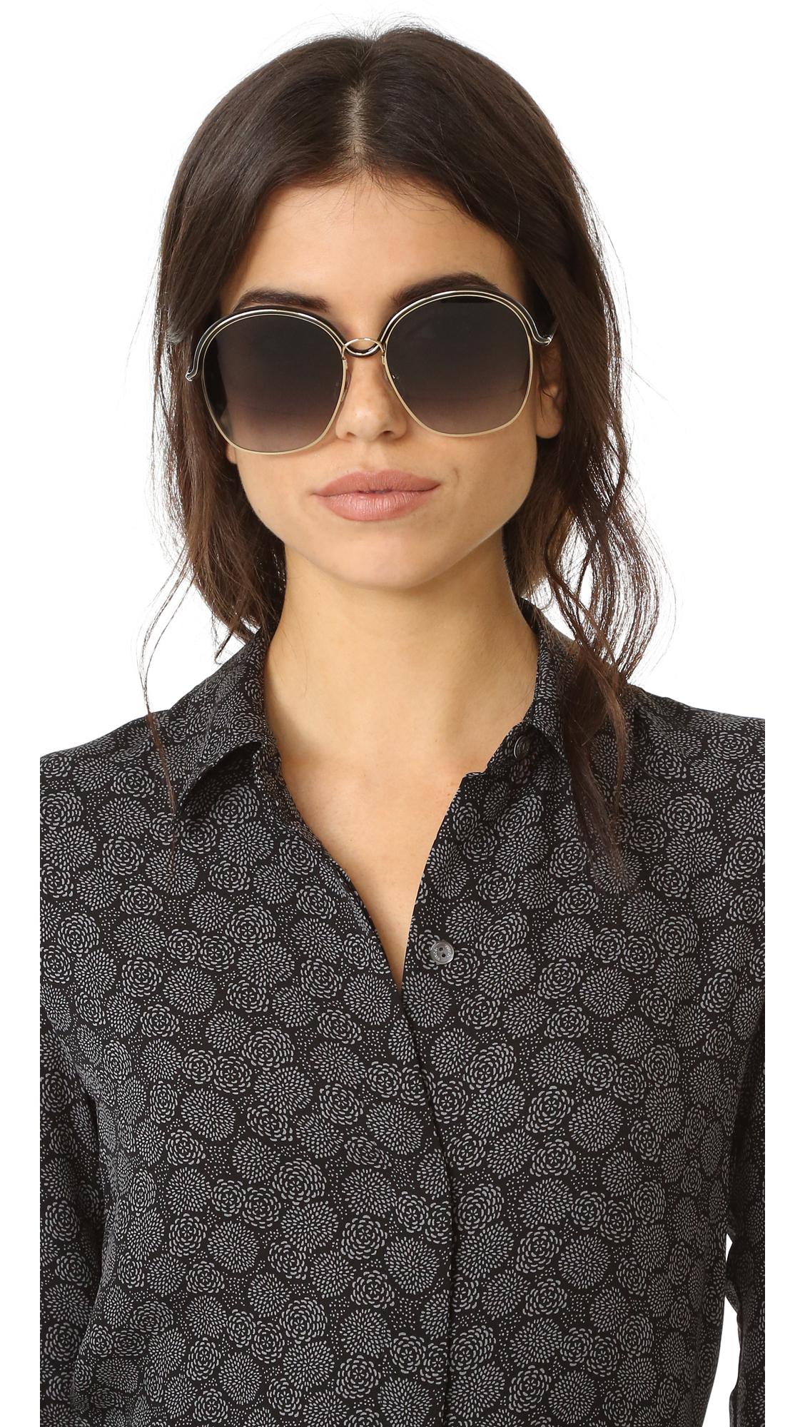 1beab8078ea Givenchy Oversized Round Sunglasses