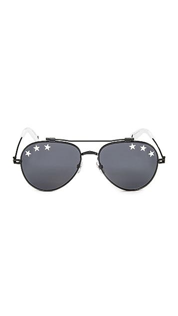 Givenchy Stars Aviator Sunglasses