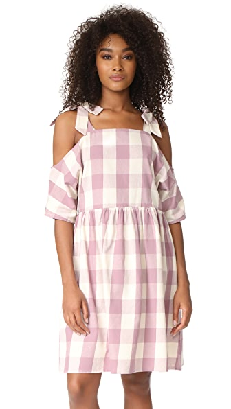 Glamorous Gingham Dress