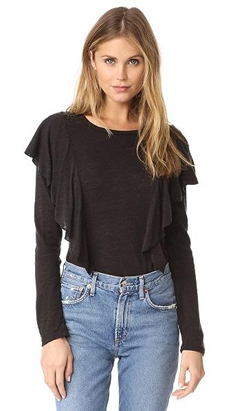 Glamorous Ruffle Pullover