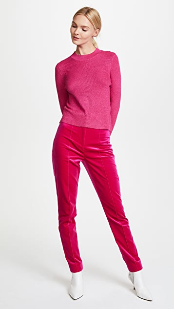 Glamorous Metallic Knit Sweater