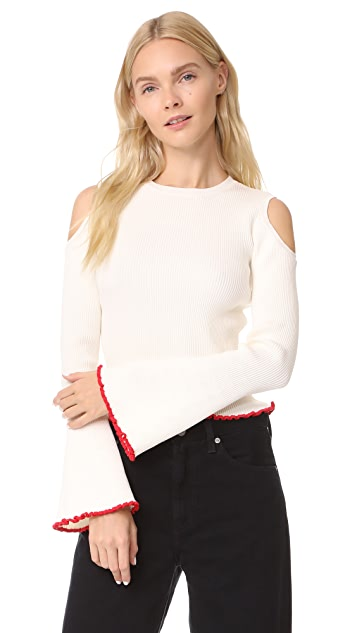 Glamorous Cold Shoulder Sweater