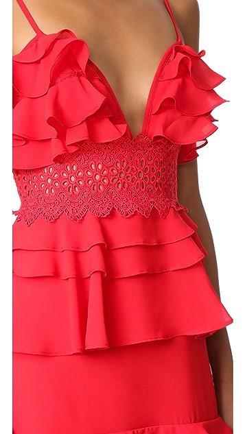 Glamorous Tiered Dress