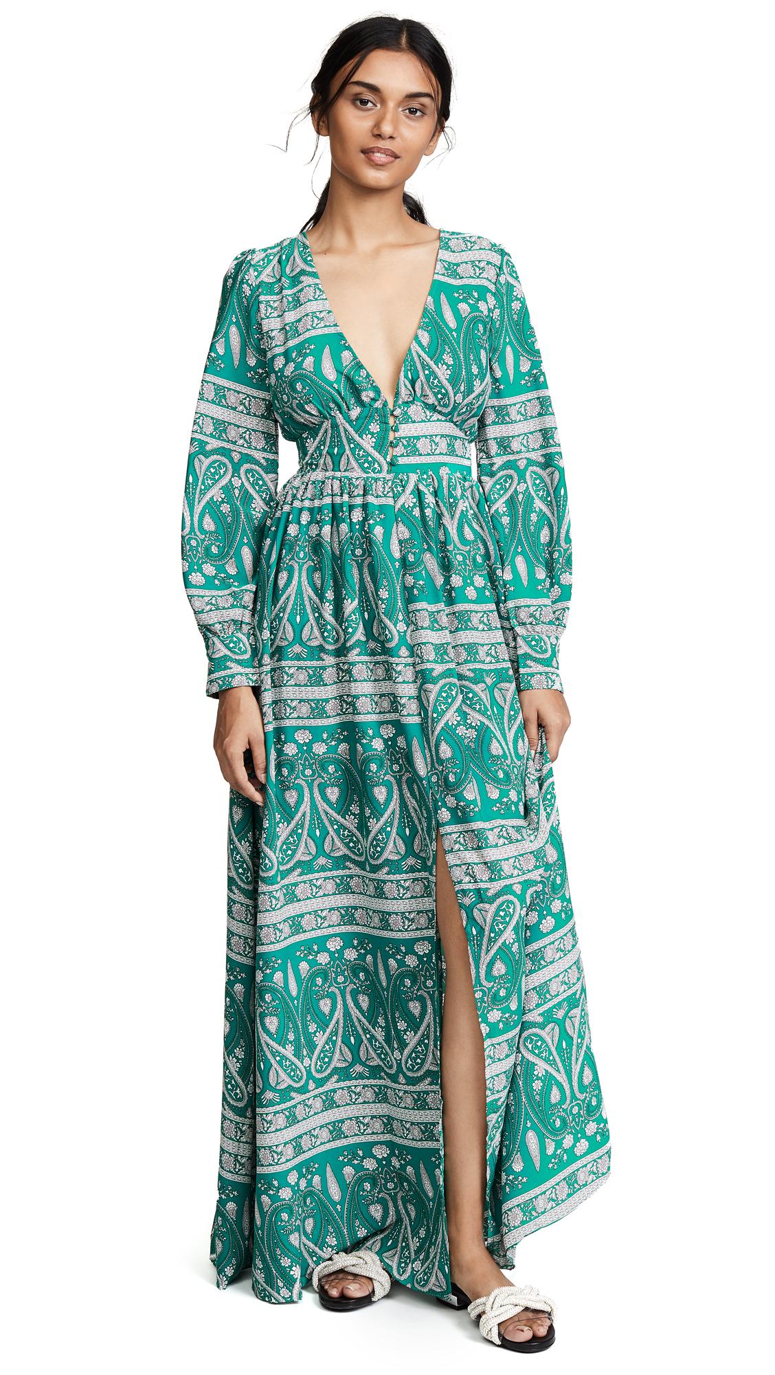 Glamorous Paisley Dress