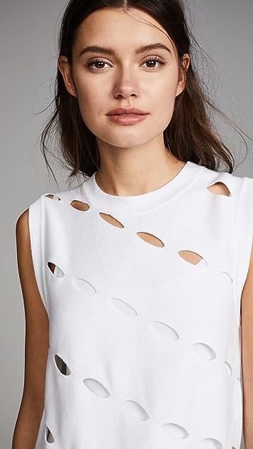 Victor Glemaud Slash T-shirt Gown