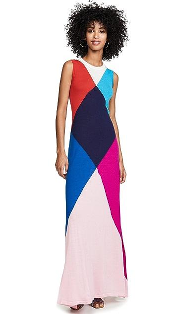 Victor Glemaud Sleeveless Multi Gown