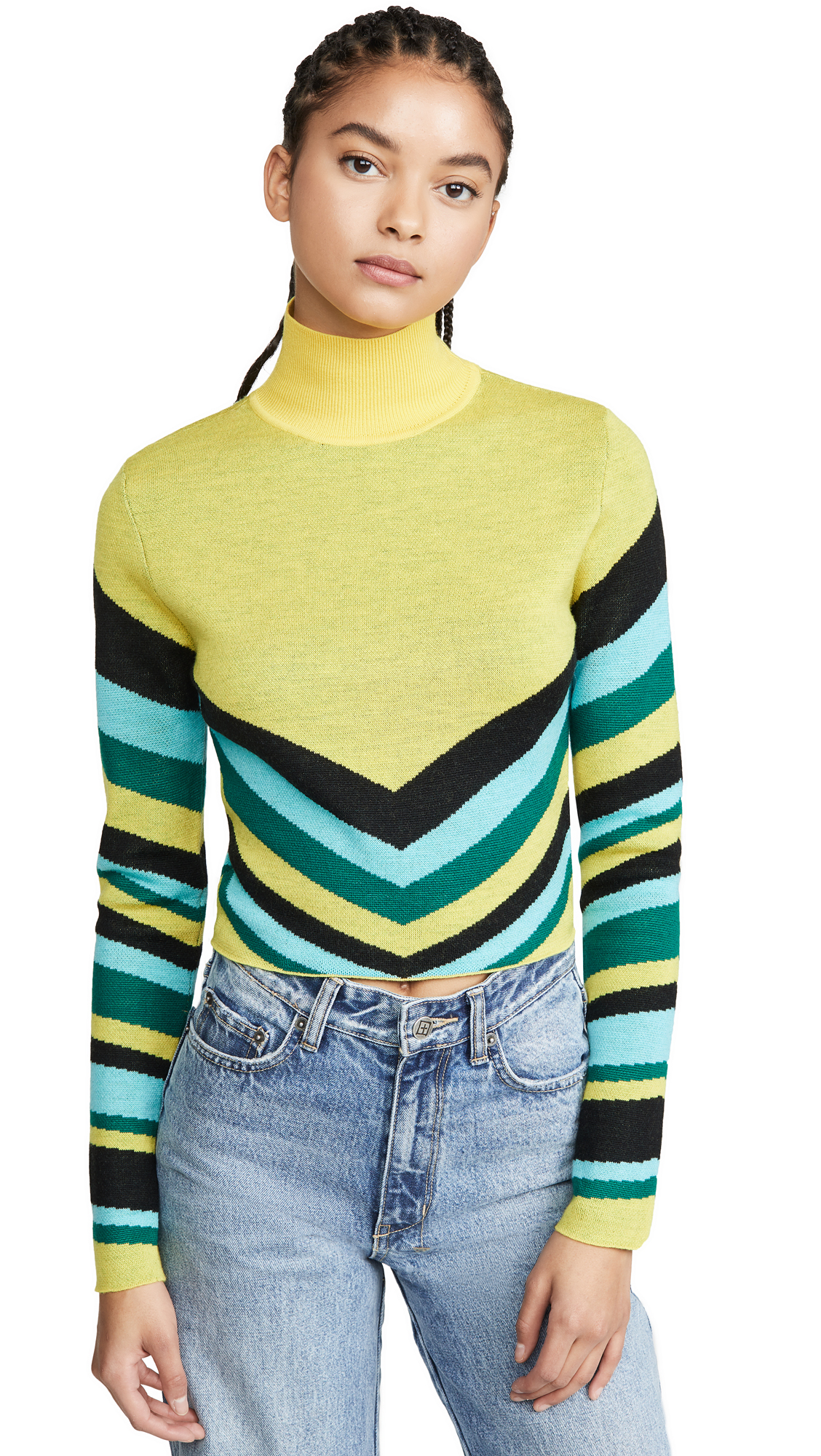 Buy Victor Glemaud online - photo of Victor Glemaud Geometric Turtleneck