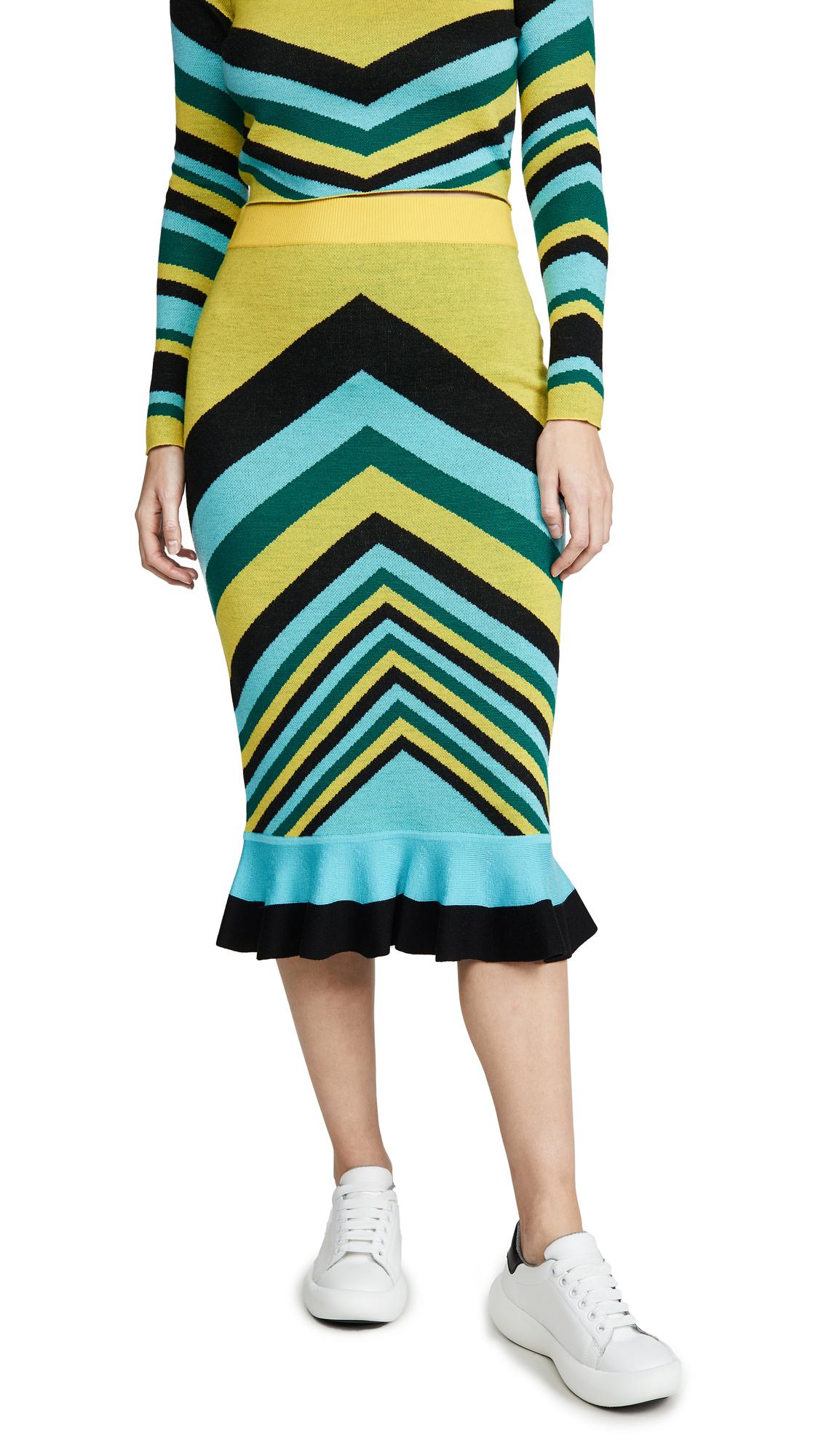 Buy Victor Glemaud online - photo of Victor Glemaud Geometric Skirt