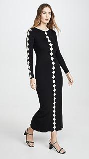 Victor Glemaud Контрастное платье