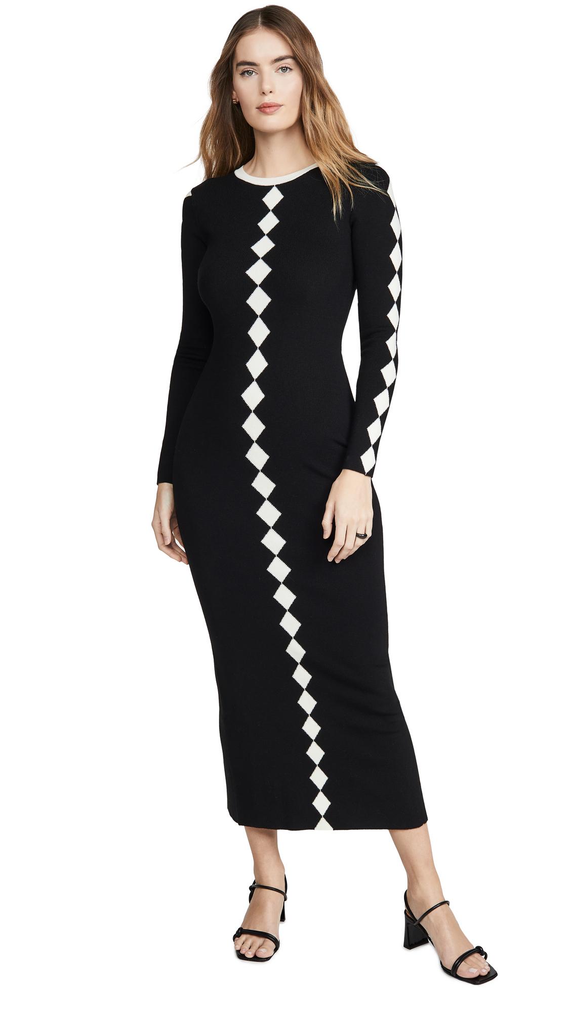 Buy Victor Glemaud online - photo of Victor Glemaud Contrast Dress
