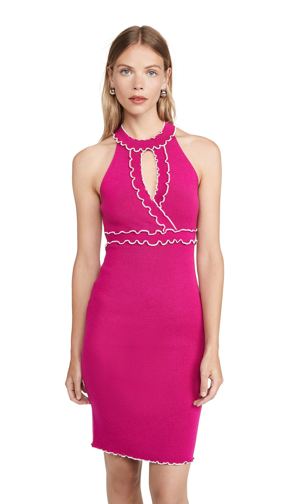 Buy Victor Glemaud online - photo of Victor Glemaud V Neck Sleeveless Dress