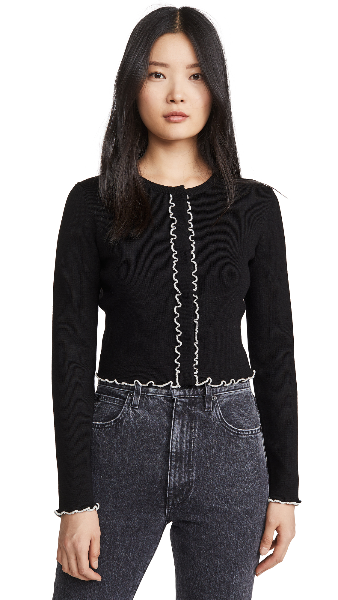 Buy Victor Glemaud online - photo of Victor Glemaud Cropped Cardigan