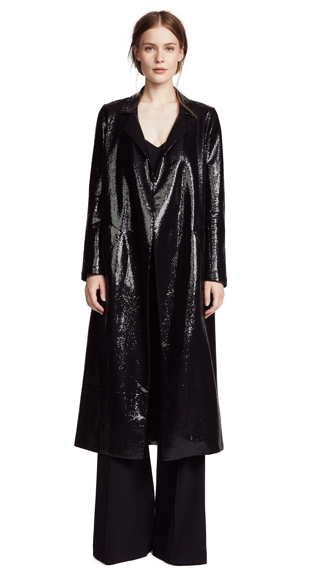 Galvan London Sun Sequin Coat
