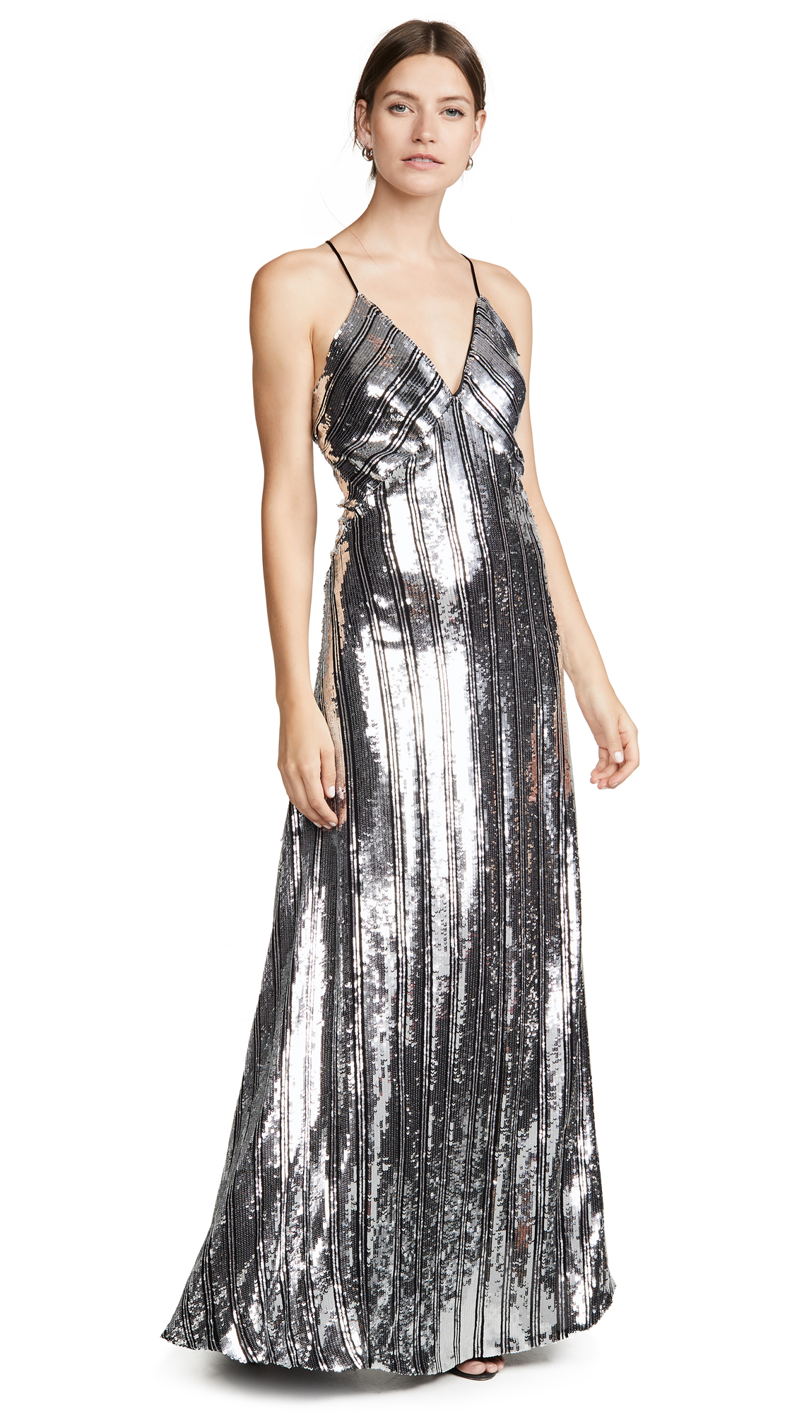 Buy Galvan London online - photo of Galvan London Stardust Slip Dress