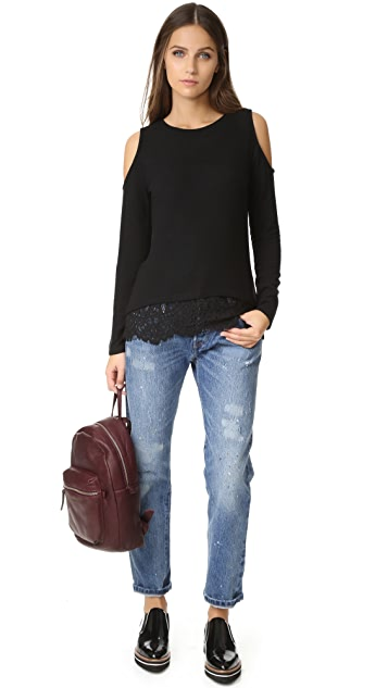 Generation Love Martha Cold Shoulder Sweater