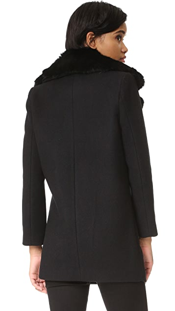 Generation Love Isobal Coat with Fur Collar