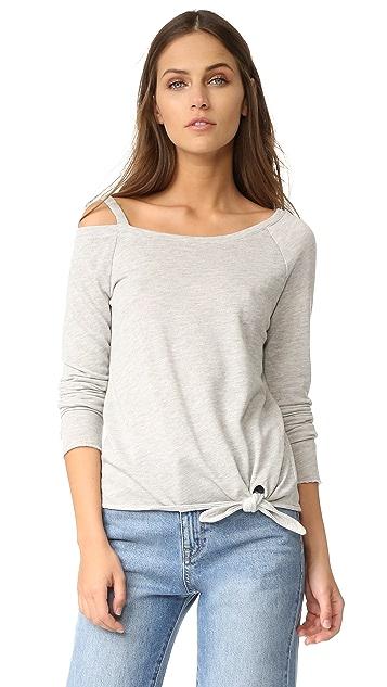 Generation Love Drexler Off Shoulder Sweatshirt