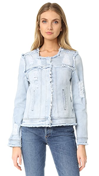 Generation Love Madison Distressed Jacket - Denim