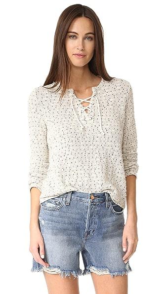 Generation Love Karen Lace Up Sweater