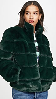 Generation Love Jodi Faux Fur Jacket