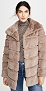 Generation Love Taylia Faux Fur Jacket