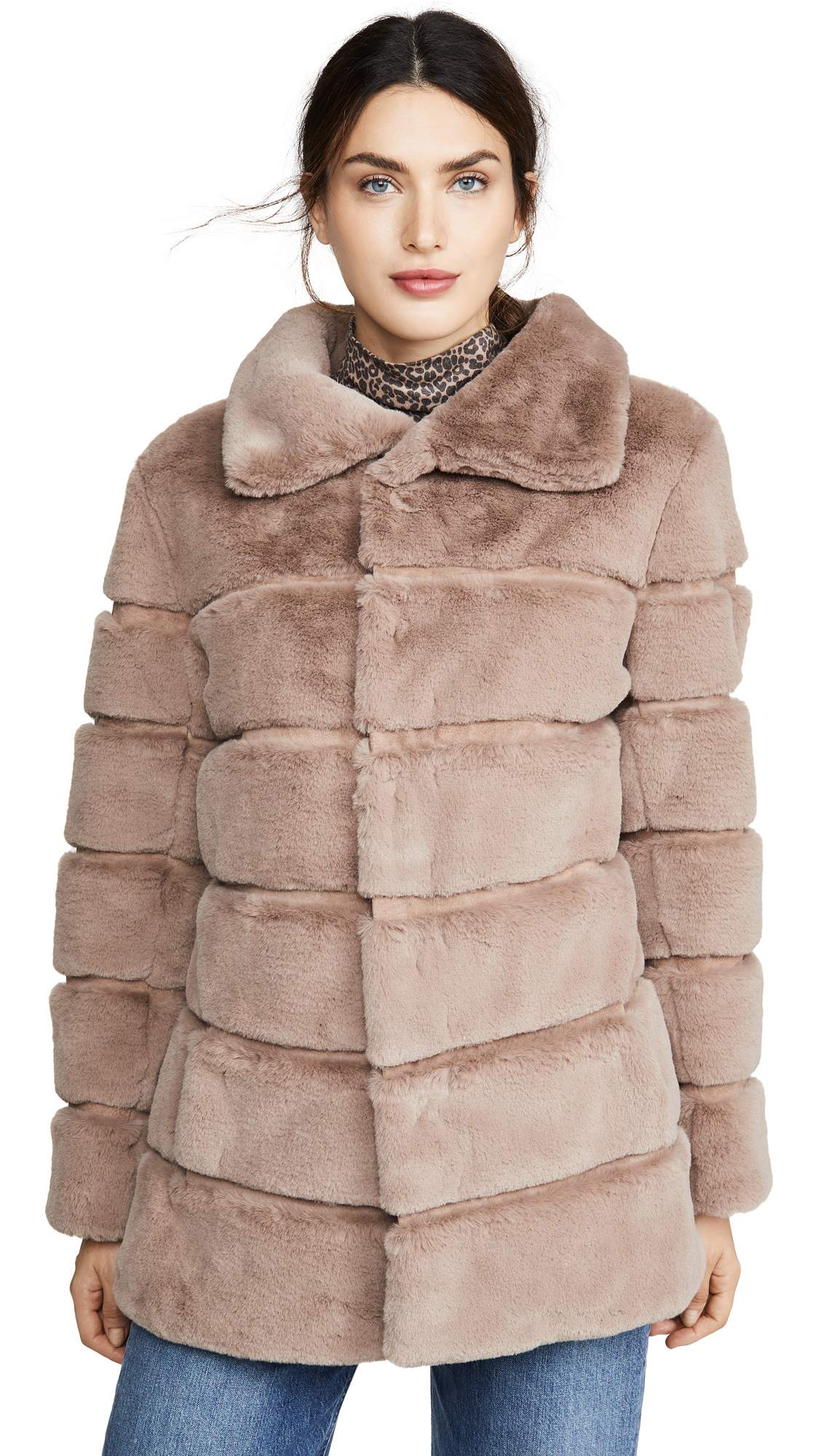 Buy Generation Love Taylia Faux Fur Jacket online beautiful Generation Love Clothing, Jackets