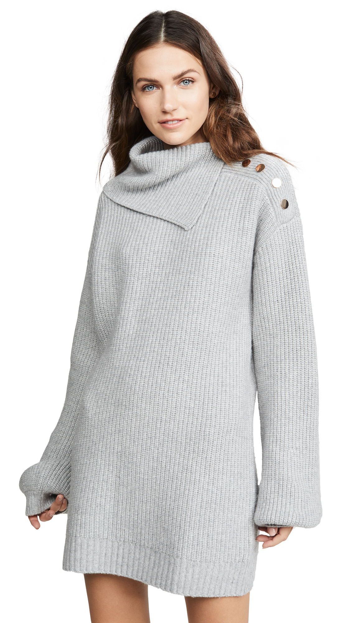 Buy Generation Love online - photo of Generation Love Wilson Buttons Sweater Dress