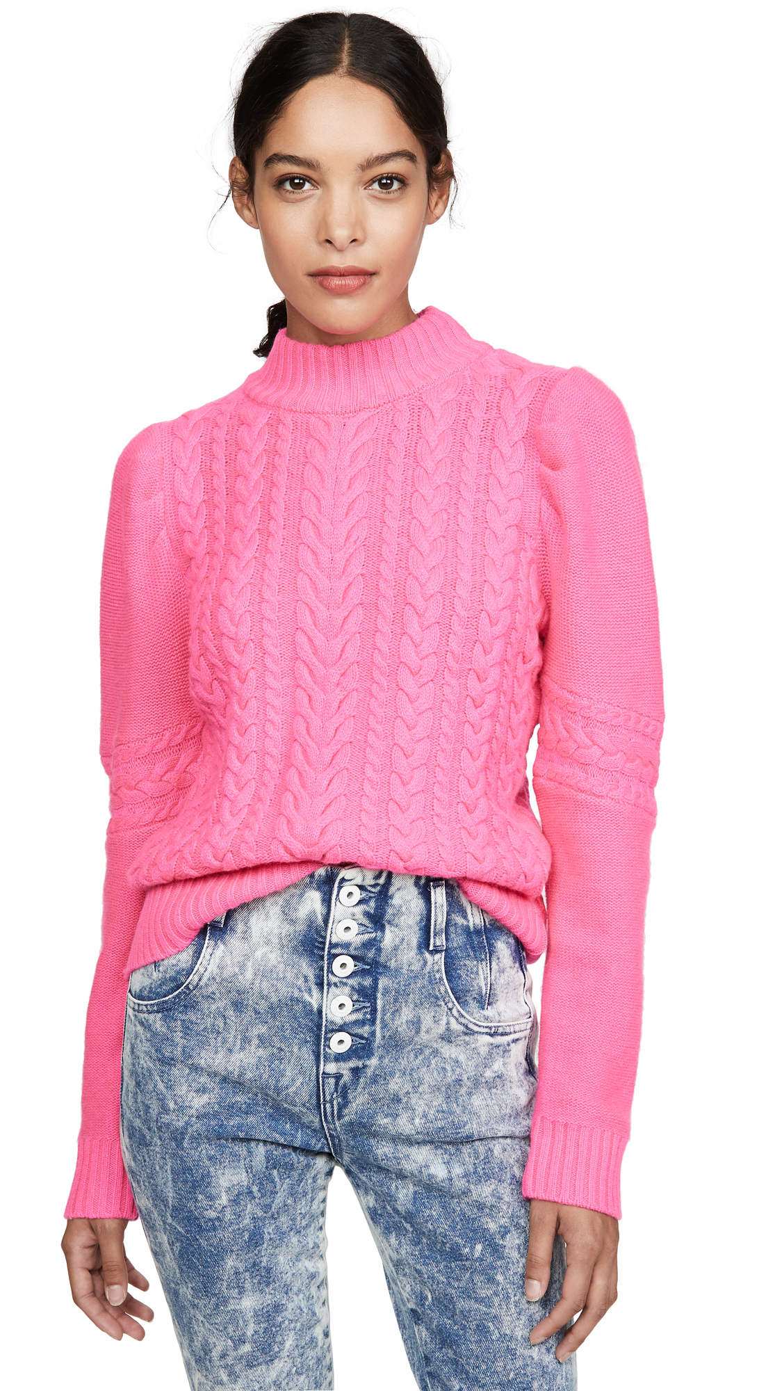 Buy Generation Love online - photo of Generation Love Isabella Cable Knit Sweater