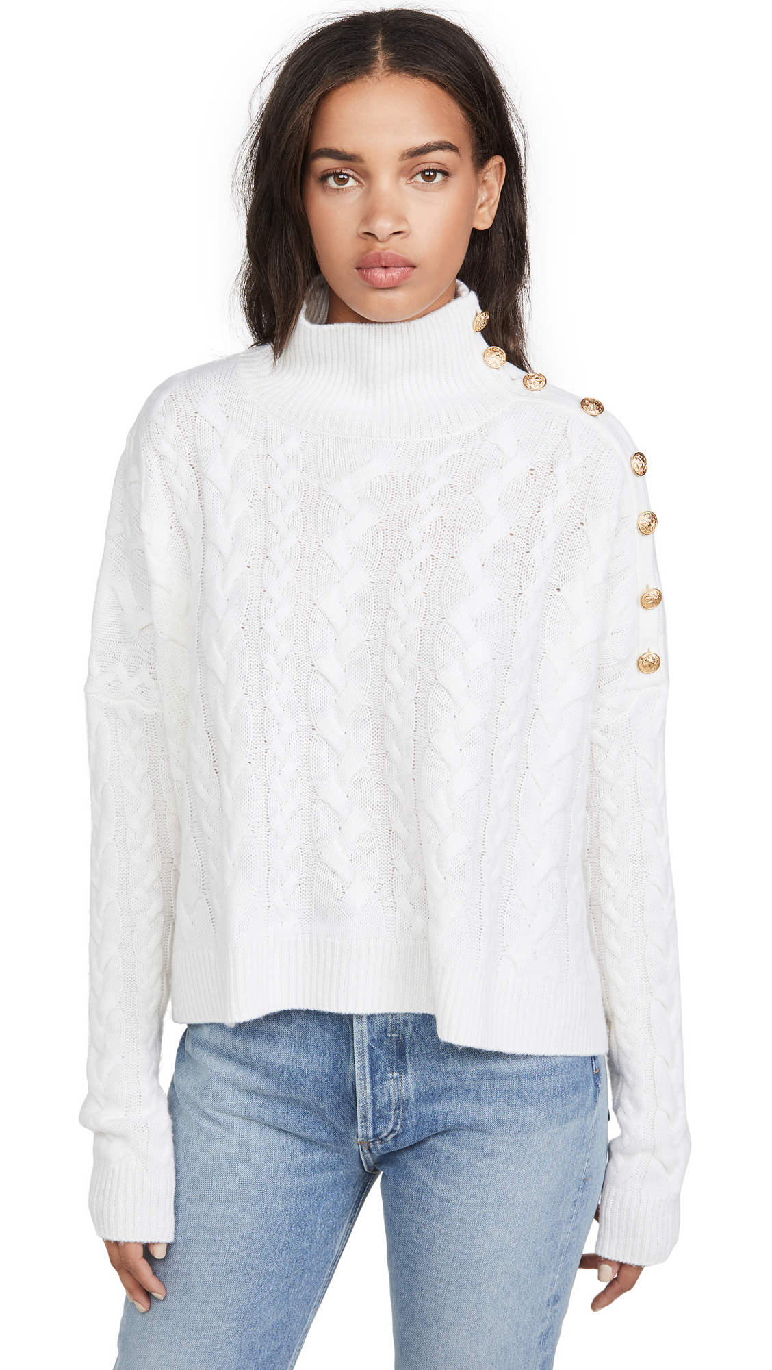 Buy Generation Love online - photo of Generation Love Lana Cable Knit Sweater