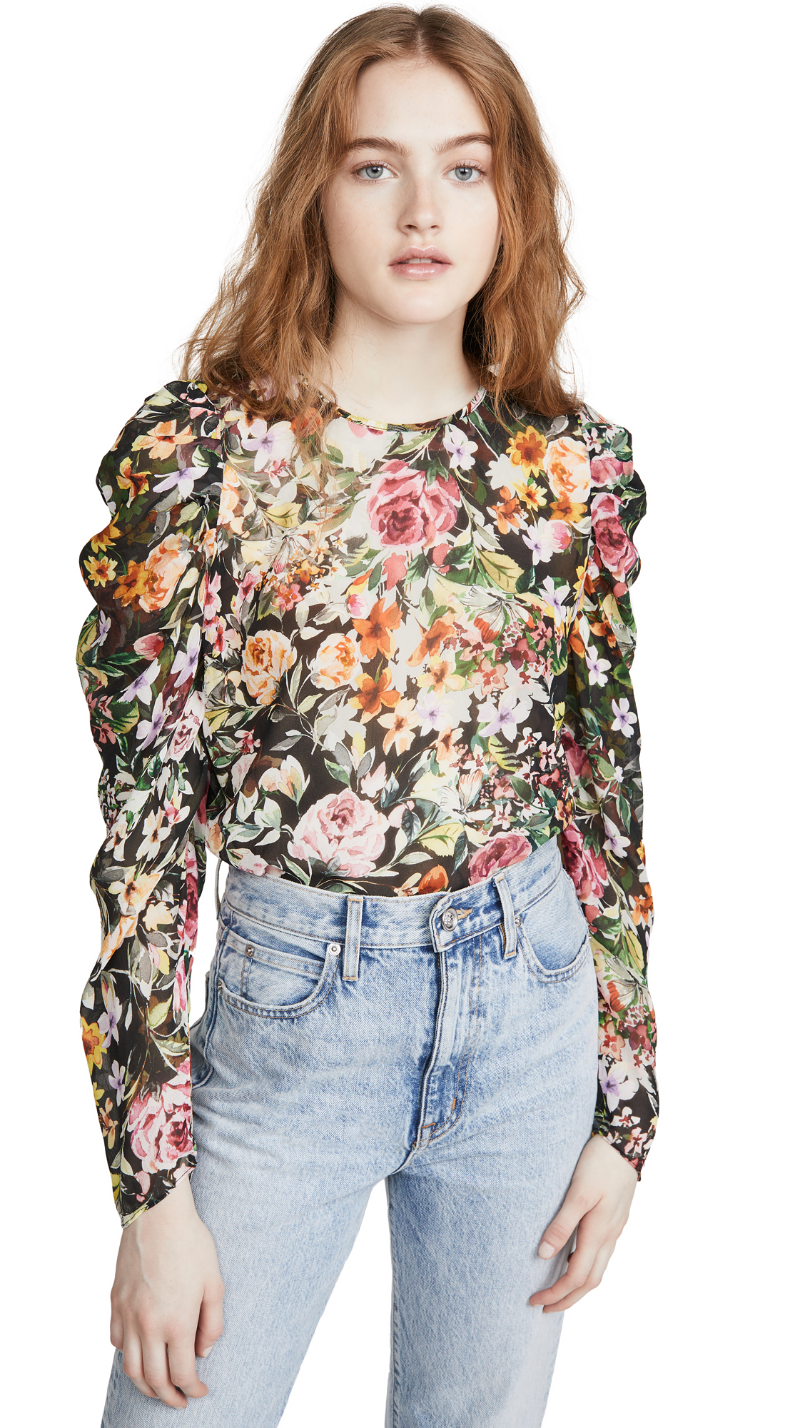 Buy Generation Love online - photo of Generation Love Jada Floral Blouse