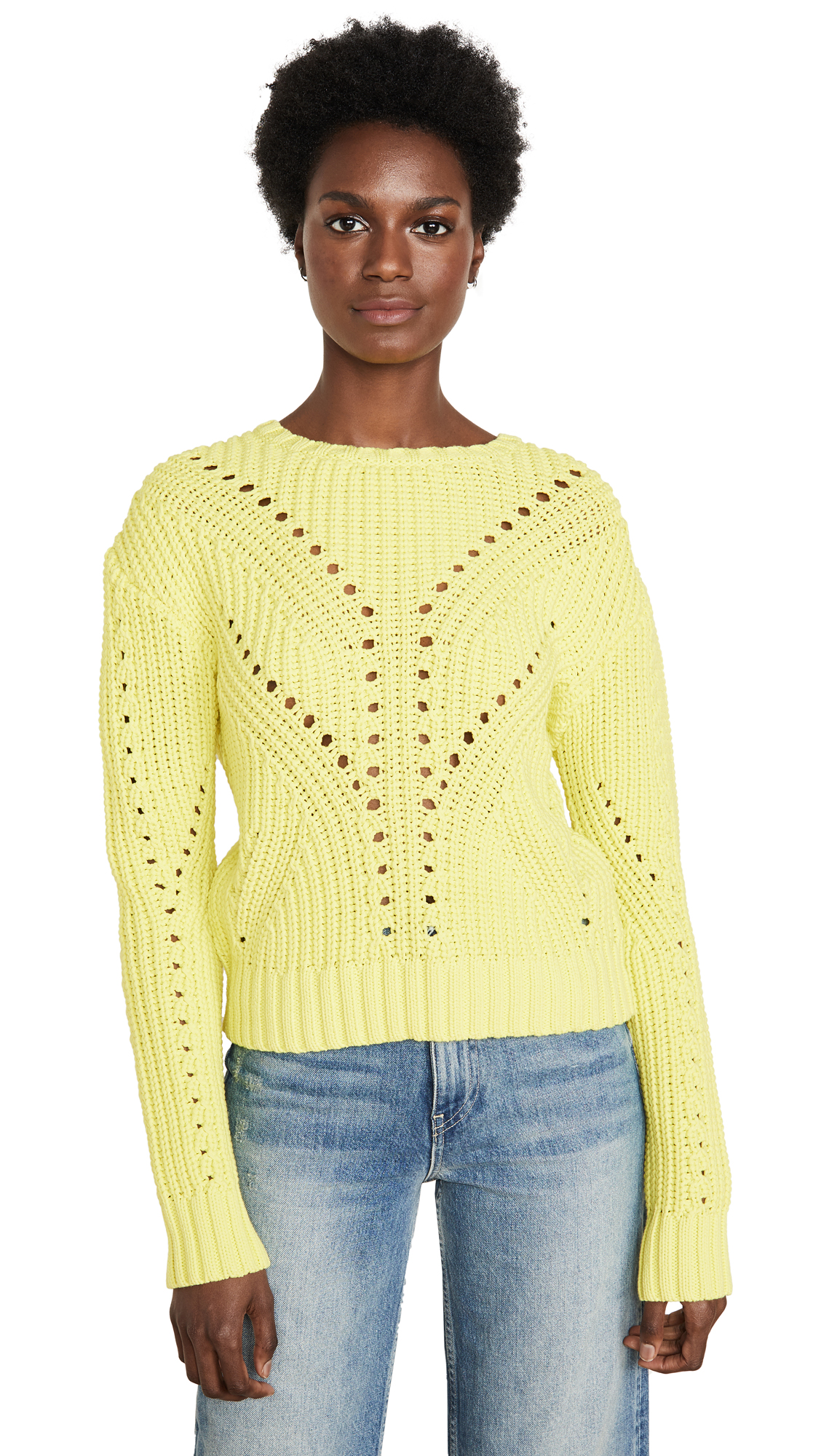 Buy Generation Love online - photo of Generation Love Nadia Perf Sweater