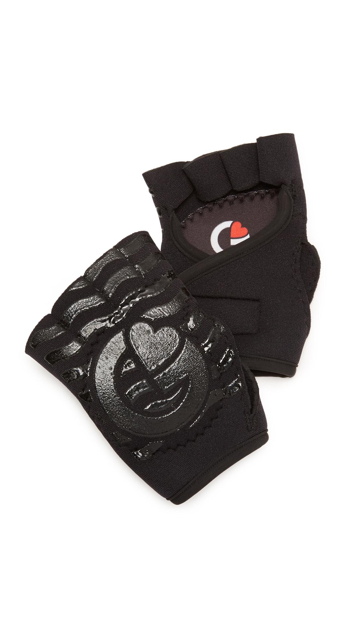 G-Loves Back To Black Workout Gloves - Black at Shopbop