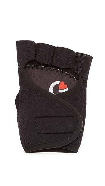G-Loves Back to Black Workout Gloves