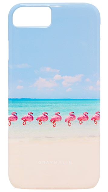 Gray Malin Flamingos iPhone 7 Case
