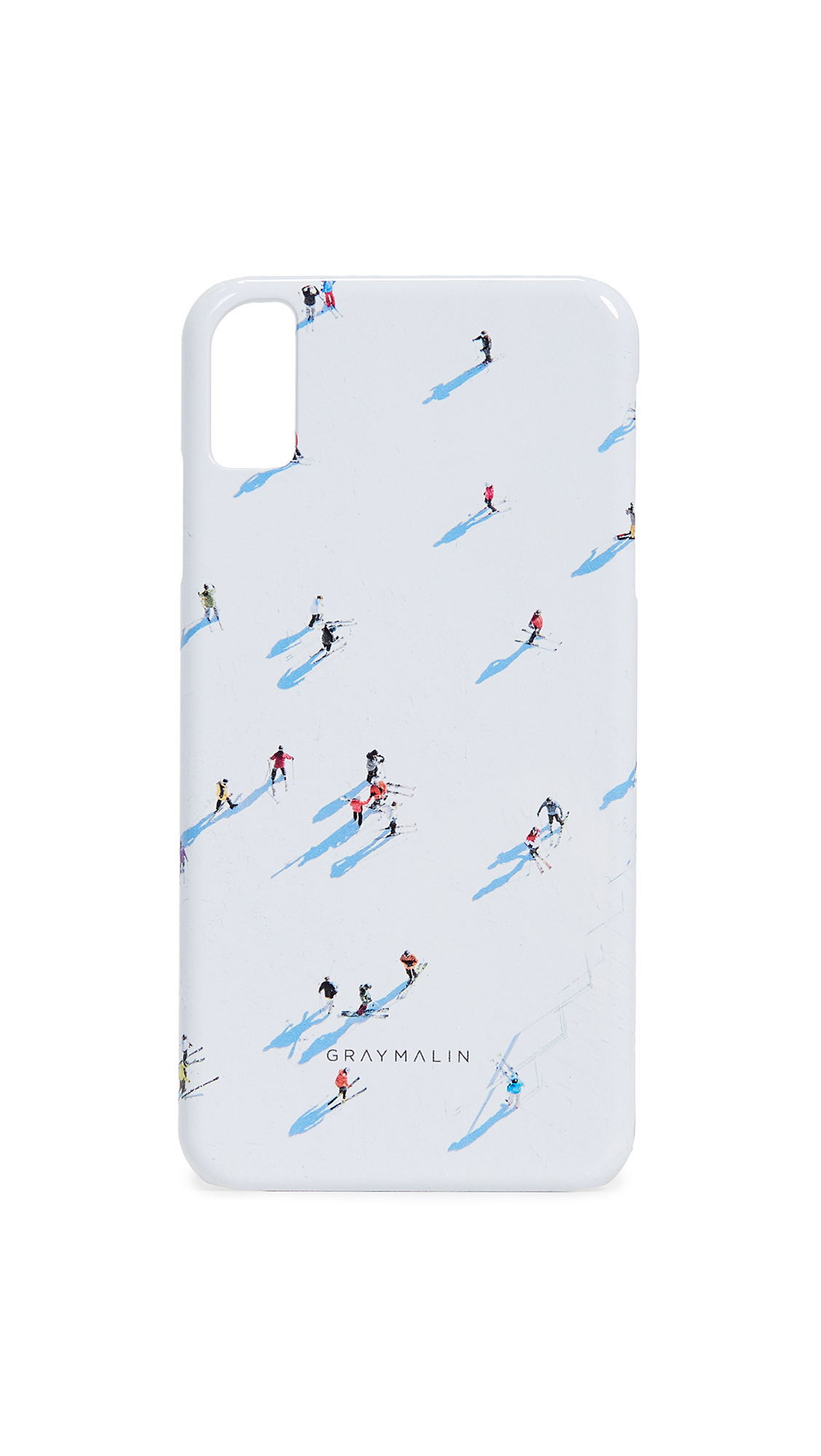 GRAY MALIN The Deer Valley Skiers Iphone Xs Max Case in Multi