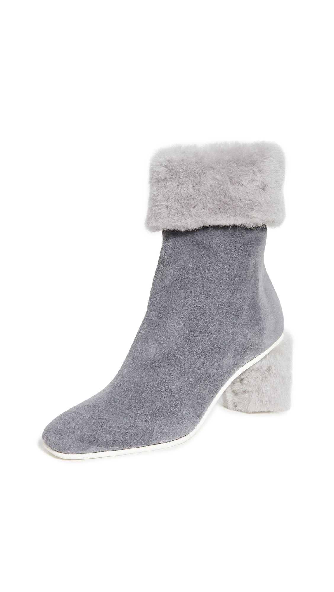 Buy Gray Matters online - photo of Gray Matters Furry Shearling Boots